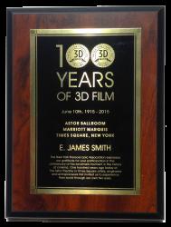 EJS 100 plaque