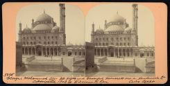 mosque stereograph